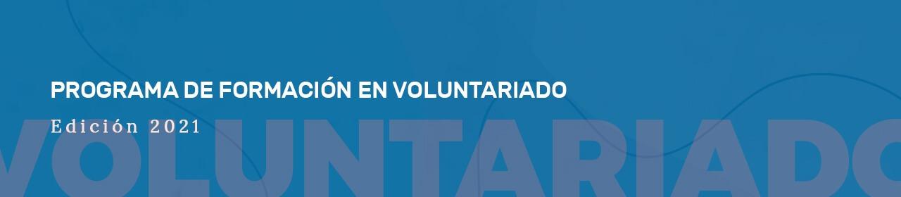Programa de acciones formativas en Voluntariado 2021 - ACCAM
