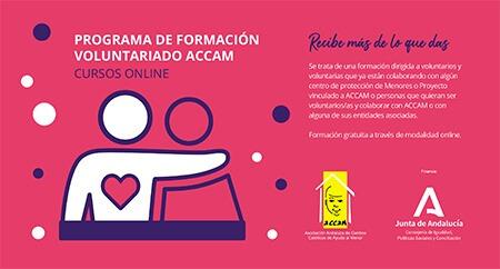 Programa de formación del voluntariado de ACCAM junio - septiembre 2020