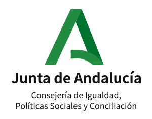 Logotipo Consejería de Igualdad, Políticas Sociales y Conciliación